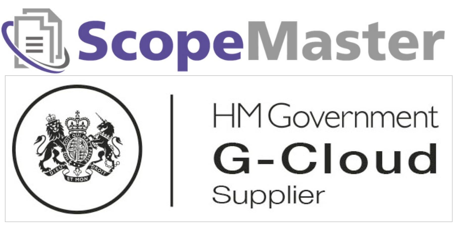 ScopeMaster Approved for UK Government G-Cloud