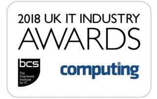BCS UK IT awards 2018. Finalist