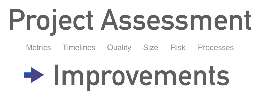 Project assessment and project evaluation