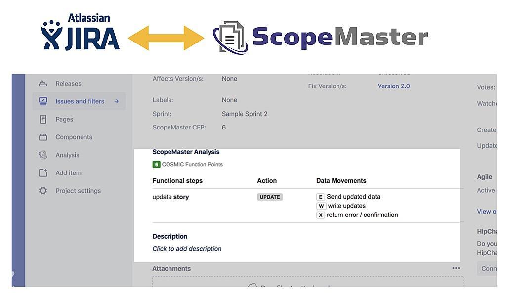 story validator jira ScopeMaster