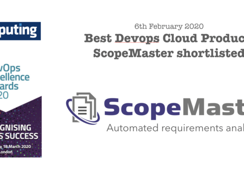 Shortlisted for Devops Award