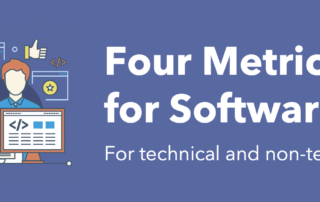 Four metrics for successful software projects