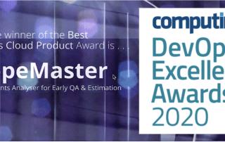 ScopeMaster wins Computing Award for best DevOps Cloud product of 2020