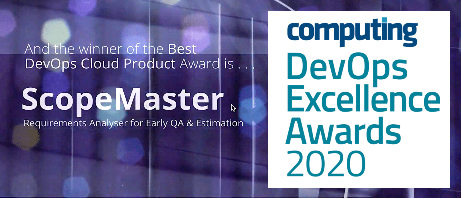 ScopeMaster wins Computing Award for best DevOps Cloud product of 2020