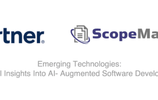 Gartner features ScopeMaster in AI-augmented software development