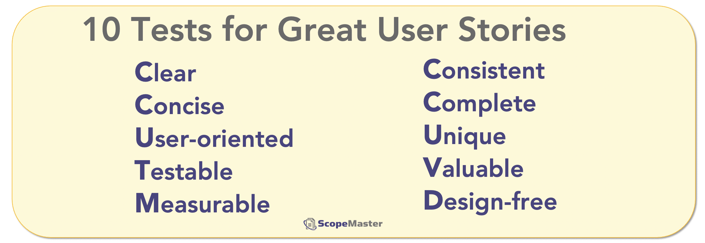 ScopeMaster-ten-tests-for-great-user-stories